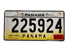 Nummernschild Panama