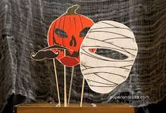 free halloween photo booth props - Google Search