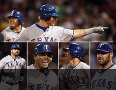 BOSTON, MA- The Texas Rangers hit six home runs off of Boston Red Sox pitchers on April 16. Final score of the game was 18-3. Game 11. Photo courtesy of The Texas Rangers.