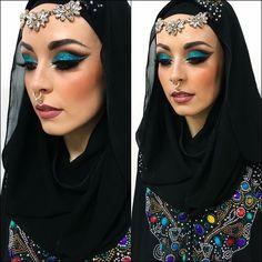 Arabic Princess Hairstyle, Princess, Makeup, Fashion, Hair Job, Make Up, Moda, Hair Style, Fashion Styles