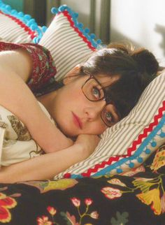 oh jess... this is me when i get home from school. strait to bed in my cloths with my glasses still on.