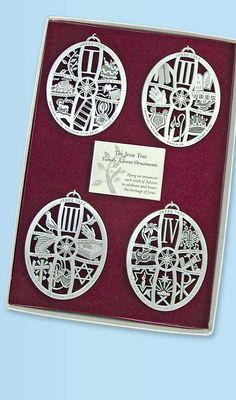 Jesse Tree Ornaments Advent Catholic Christmas. Jesse tree symbols are perfect for Chrismon trees!