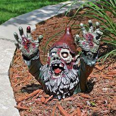"""""""Zombie Gnombie"""" Statue"""