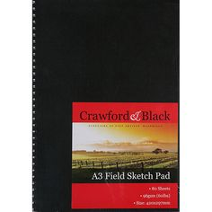 Crawford And Black A3 Sketch Pad | Sketchpads at The Works