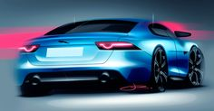 Jaguar XE Sketch