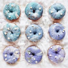 "7,337 Likes, 139 Comments - Fluffë / Nathan (@fluffegram) on Instagram: ""Happy #nationaldonutday !!!✨ Made some Galaxy Doughnuts with @taramilktea and of course they're…"""
