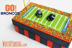 football valentines box | Worth Pinning: Girl and Boy Valentine's Day Box