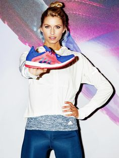 Runng-Girl: Wir haben das fitte Topmodel Lena Gercke in Berlin getroffen, wo sie für Adidas den neuen Running-Schuh Pure Boost X präsentiert hat.
