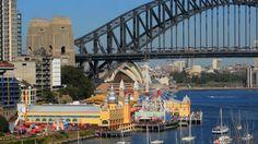 Luna Park Sydney Stock Footage Video - Shutterstock