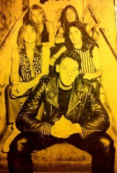 Iron Maiden with Paul Di'Anno. Great Bands, Cool Bands, Clive Burr, Iron Maiden Band, Where Eagles Dare, Crust Punk, Greatest Rock Bands, Heavy Metal Bands, Big Hugs