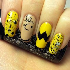 Charlie Brown Nails