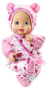 Black Friday 2014 Little Mommy Bedtime Baby Doll from Mattel Cyber Monday. Black Friday specials on the season most-wanted Christmas gifts. Porcelain Doll Makeup, Porcelain Dolls Value, Toddler Toys, Kids Toys, Mattel Shop, Baby Bedtime, African American Dolls, Dolls For Sale, Baby Alive