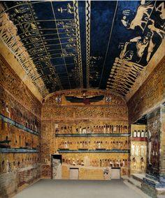 Soffitto astronomico della tomba di Seti I, Valle dei Re, Tebe