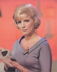 "Majel Roddenberry (1932 - 2008) Actress. The wife of Gene Roddenberry, the creator of the ""Star Trek"" science fiction television and motion picture franchise, she is best known for her roles in the franchise as ""Nurse Chapel"" in the original 1960s television series, and as ""Lwaxana Troi"" in the 1980s and 1990s series ""Star Trek: Next Generation"" and ""Deep Space Nine""."