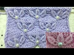 Neu Stricken YouTub a very different and beautiful bowknot increment Knitting example: Princess crown . Lace Knitting Patterns, Knitting Stiches, Baby Hats Knitting, Knitting Videos, Knitting Charts, Easy Knitting, Knitting Designs, Stitch Patterns, Yarn Crafts