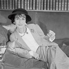 Coco  Chanel.  Photo by Willy Rizzo.
