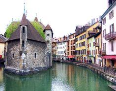 Le Palais d'Ile in Annecy, France
