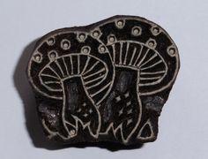 Fair Trade 4.2cm Mushroom Design Carved by PilgrimsFairTrade