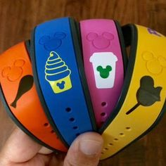 Disney Food Magic Band Decals by hookandfindesignco on Etsy