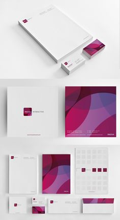 Innova Interactive Identity Branding Stationery #branding #visualidentity #logodesign #stationery #businesscards