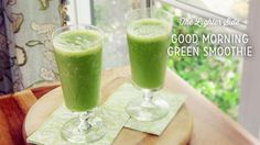 Check out what I found on the Paula Deen Network! Good Morning Green Smoothie http://www.pauladeen.com/good-morning-green-smoothie