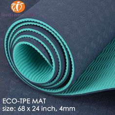 [Body Building] TPE eco friendly anti slip yoga mat with carry strap easy washable sport mat manufacturer Sport Mat, Powerlifting Training, Bodybuilding Training, Yoga Accessories, What To Pack, Training Tips, Eco Friendly, Easy