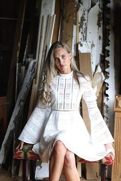 Aleksandra dress white – Secrets By B