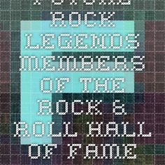 Future Rock Legends - Members of the Rock & Roll Hall of Fame Inducted in their First Eligible Year