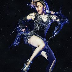 Girl Gone Wild in Turino you might think that Im an Unapologetic Bitch . #rebelhearttour by madonna #Madonna #RebelHeart