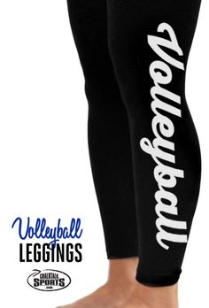 Check out these adorable volleyball leggings!