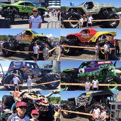 Monster Jam Path of Destruction Pit Party at Gillette Stadium
