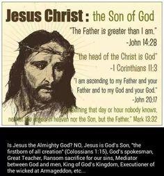 Jesus, God's son.