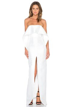 L space maxi dress bridesmaid