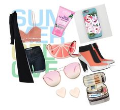 """summer"" by coolkalpana on Polyvore featuring Zimmermann, Alaïa, Kenzo, Kate Spade, Quay, Alba Botanica and Ted Baker"