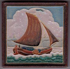 Jugendstil Fliese Kachel Art Nouveau Tile PORCELEYNE FLES 1