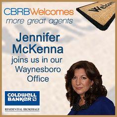 Jennifer McKenna has affiliated with our Waynesboro Office!