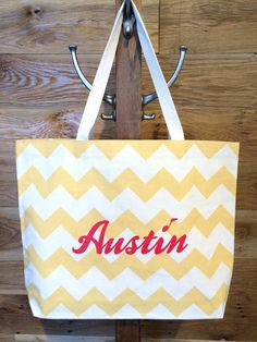 Pick up this tote at the Visitor Center to carry all your new Austin gear back home!
