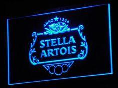 Stella Artois Crest LED Neon Sign