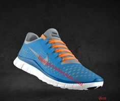 7107febbbb0a Cheapest Womens Nike Free 3.0 V4 Prism Blue Reflective Silver Sail Bright  White Lace Shoes