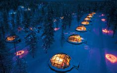 NASA, the American space agency, has predicted this winter will be the best in   more than a decade to see the northern lights. Here we highlight the best   hotels from which to view nature's most wondrous celestial display.