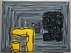 """Jonathan Lasker """"Communication and Reason"""" 2015"""
