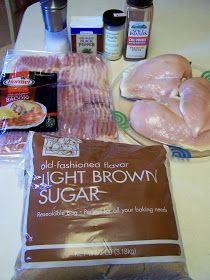 Diary of a Recipe Addict: Sweet & Spicy Bacon Chicken