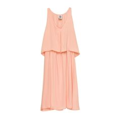 This Chelsea Layer Tank Dress by Bobeau Collection is a simple and flattering option for the next nuptial on your agenda.