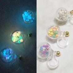 まあるい形がとっても可愛い♡ 好きなものを詰め込んだ『ガラスドームピアス』が可愛すぎる…* - http://girly.today/6162