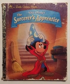 Walt Disney's The Sorcerer's Apprentice Mickey by ReclaimYouth