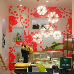 we love mums Stunning Photography, Bright Flowers, Kate Spade, Retail, Windows, Interiors, Spaces, Inspiration, Home Decor