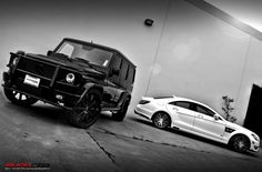 MERCEDES-BENZ G55 and CLS63 AMG BRABUS B63-620