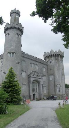 Charleville Forest Castle. (It is said to be haunted).  Tullamore, County Offaly, IRELAND.