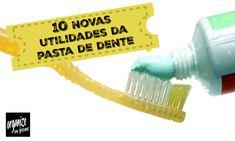 Você sabia que a pasta de dente tem outras excelentes funcionalidades? No vídeo, Rafaela Oliveira mostra as maravilhas que uma simples pasta de dente pode fazer na limpeza.