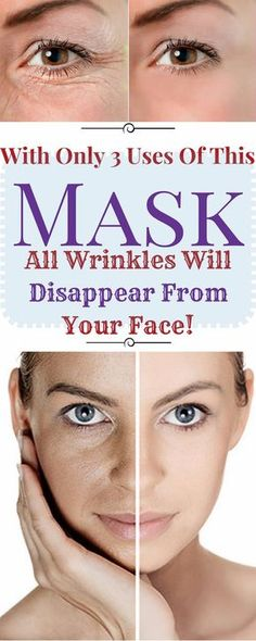 In today's article, we are going to show you, how to make a mask, that will assist you in erasing all wrinkles from your face, with only 3 ...
